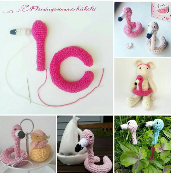 Flamingo Swim Ring By Ellamakes Free Crochet Pattern Creating Time