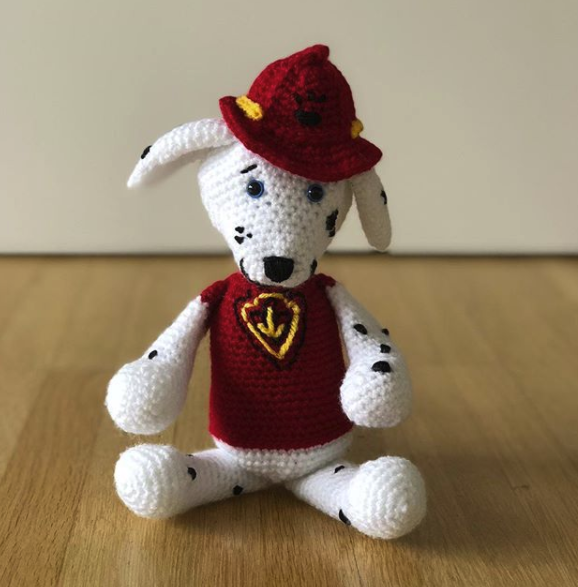 Just In Time For Christmas Paw Patrol Pups 40 Marshall Creating Custom Paw Patrol Crochet Patterns