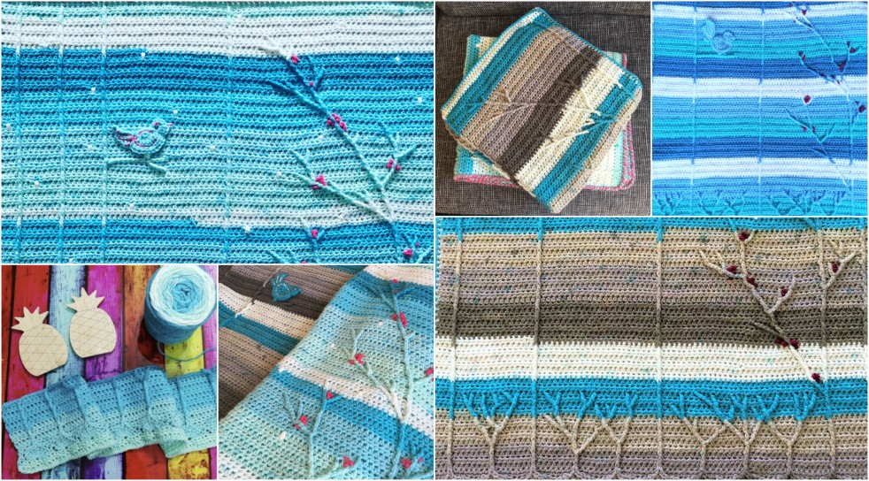 Winterberry Baby Blanket Free Crochet Pattern Creating Time